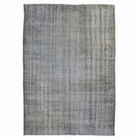Vintage umgefärbt teppich farbe grau (286x185cm)
