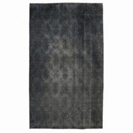Vintage umgefärbt teppich farbe grau (197x110cm)