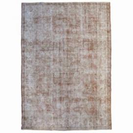 Vintage recoloured rug (292x200cm)