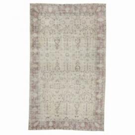 Vintage recoloured rug (152x255cm)