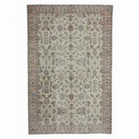 Vintage recoloured rug (194x298cm)