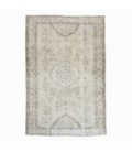 Vintage recoloured rug (158x236cm)