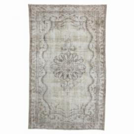 Vintage recoloured rug (175x283cm)