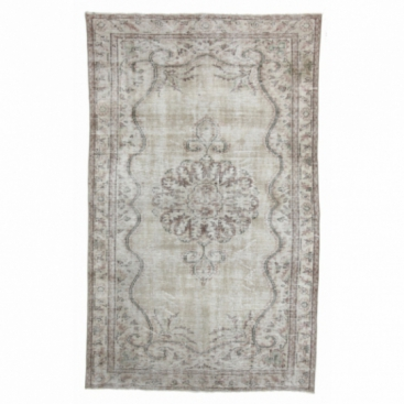 Vintage umgefärbt teppich (175x283cm)