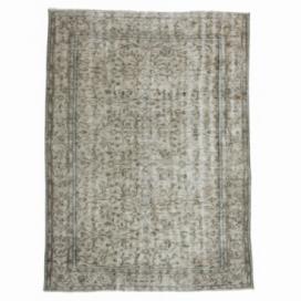 Vintage recoloured rug (188x256cm)