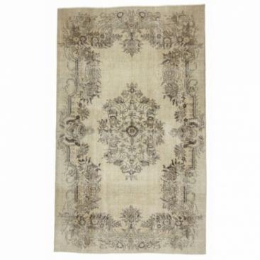 Vintage recoloured rug (165x280cm)