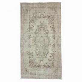 Vintage umgefärbt teppich (160x298cm)