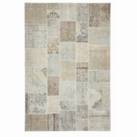 Vintage patchwork flicken teppich farbe authentic (200x300cm)
