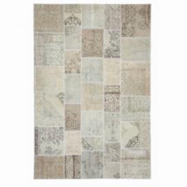 Vintage patchwork rug colore authentic (200x300cm)