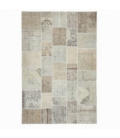 Vintage patchwork rug color authentic (200x300cm)