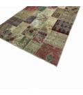 Vintage patchwork rug colore natural (197x300cm)