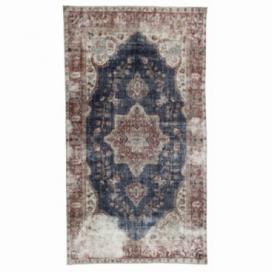 Vintage tapis recolorés couleur natural (162x290cm)