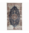 Vintage recoloured rug color natural (162x290cm)