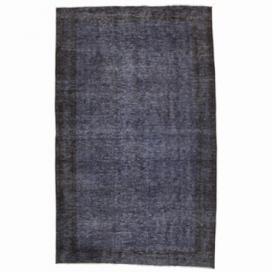 Vintage alfombra recolored color gris (149x243cm)
