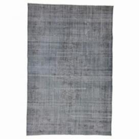 Vintage alfombra recolored color gris (175x270cm)