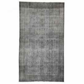 Vintage recoloured rug kleur grijs (170x298cm)
