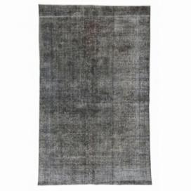 Vintage alfombra recolored color gris (183x287cm)