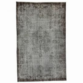Vintage alfombra recolored color gris (170x273cm)