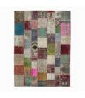 Vintage patchwork rug color various (300x406cm)