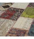 Vintage patchwork rug kleur various (300x406cm)