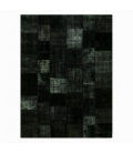 Vintage patchwork rug color black (412x305cm)