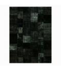 Vintage patchwork rug kleur black (412x305cm)