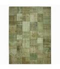 Vintage alfombra retazos color natural (412x305cm)