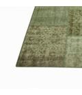Vintage patchwork rug kleur natural (412x305cm)