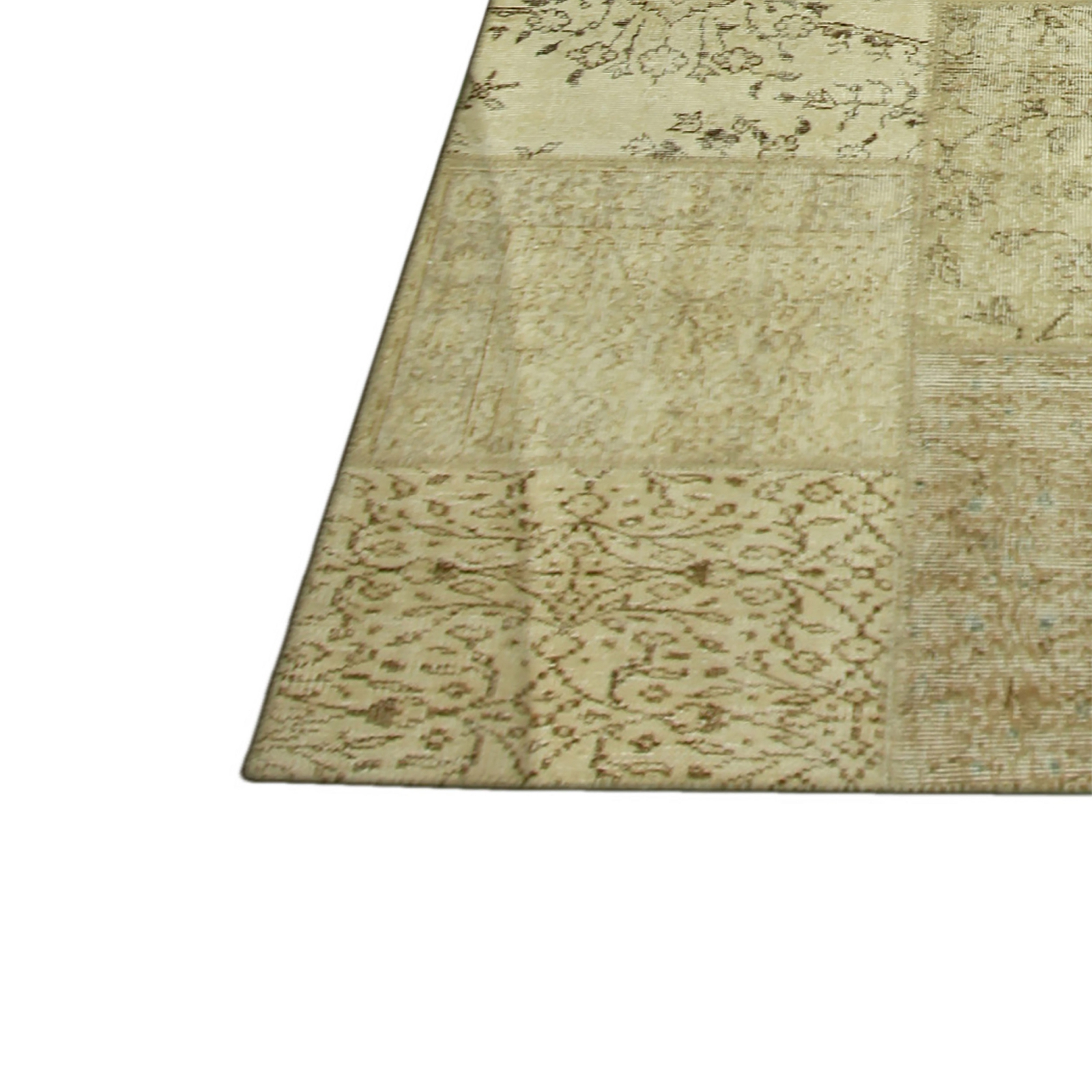 Natural vintage patchwork flicken teppich (429x305cm)