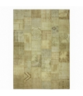 Vintage patchwork rug color natural (431x302cm)