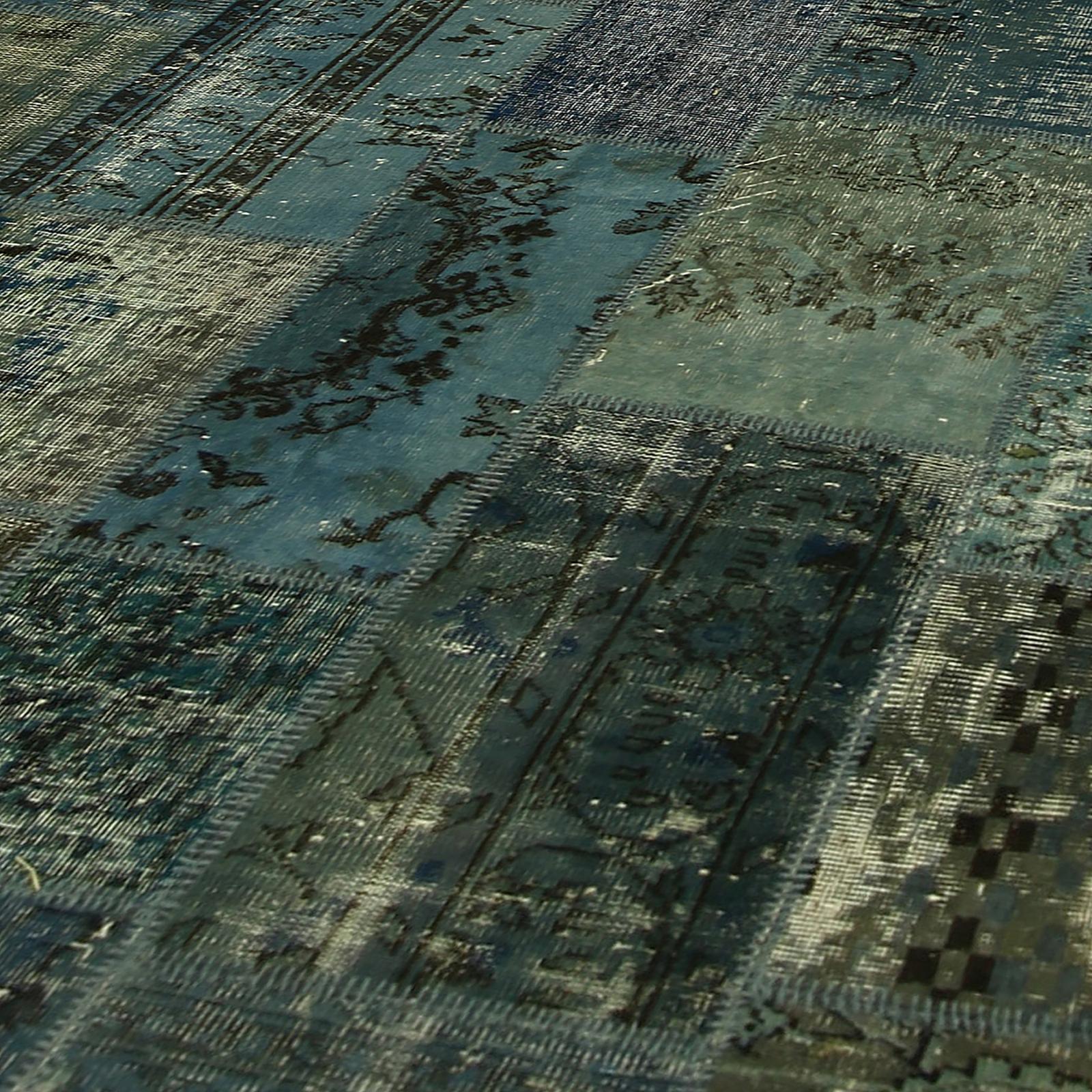 Tapete Patchwork Vintage : Home > Tapetes vintage > Patchwork rugs > Vintage patchwork rug cor