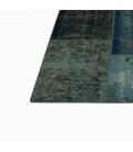 Vintage patchwork rug kleur indigo (268x275cm)