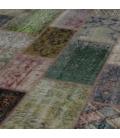 Vintage patchwork rug kleur various (276x369cm)