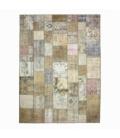 Vintage patchwork rug color natural (293x400cm)