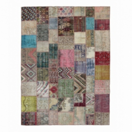 Vintage patchwork rug color various (296x400cm)