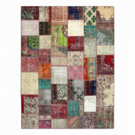 Vintage patchwork rug color various (302x400cm)