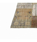 Vintage patchwork rug color natural (302x405cm)