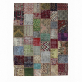Vintage patchwork rug color various (304x407cm)