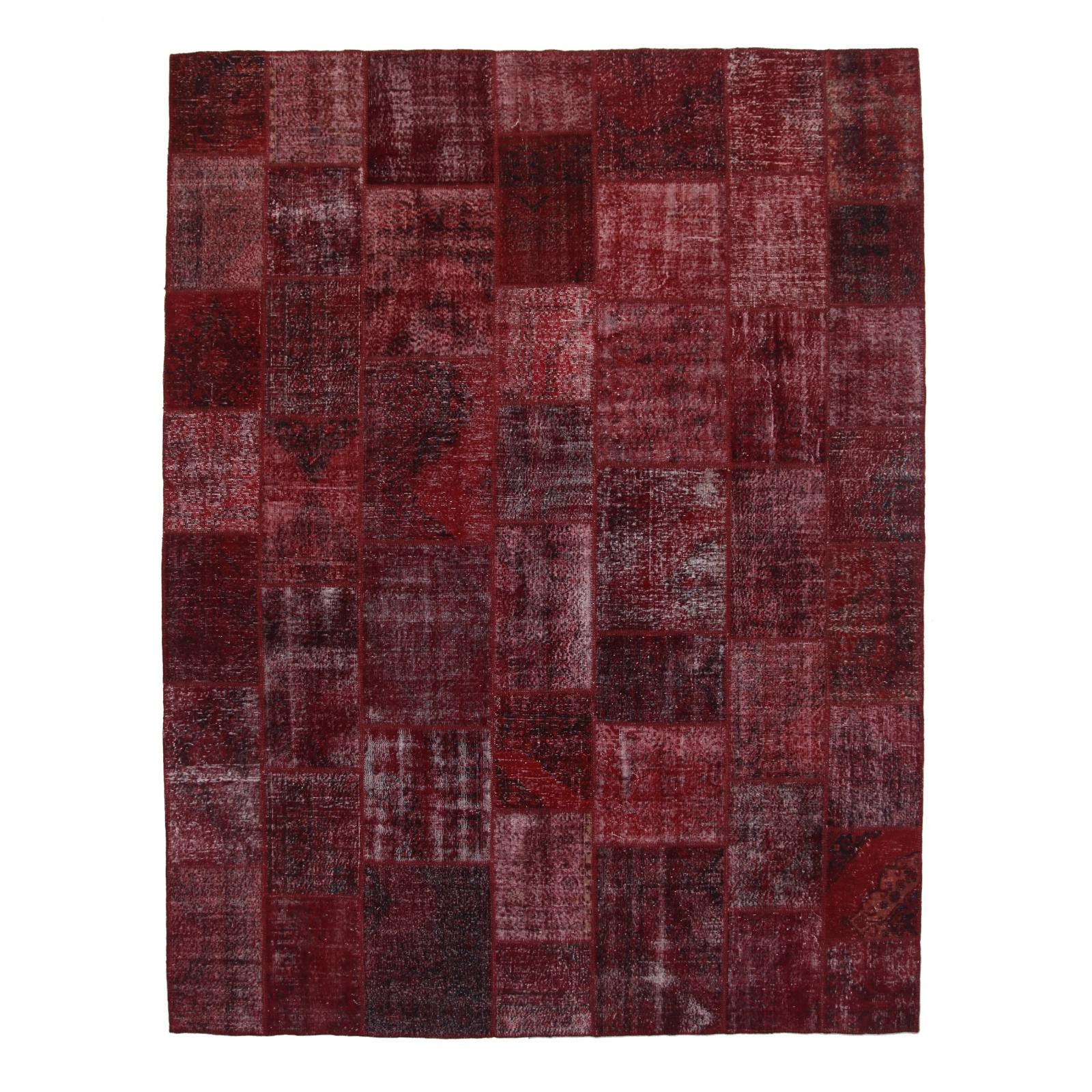 bordeaux rot vintage patchwork flicken teppich 306x400cm. Black Bedroom Furniture Sets. Home Design Ideas