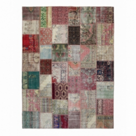 Vintage patchwork rug color various (306x410cm)