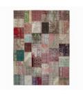 Vintage patchwork rug color various (306x410cm)
