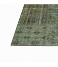 Vintage patchwork flicken teppich farbe grau (368x274cm)
