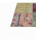 Vintage patchwork rug kleur various (368x275cm)