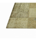 Vintage patchwork rug color natural (369x278cm)