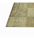 Vintage patchwork rug kleur natural (369x278cm)