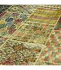 Vintage patchwork rug color various (405x301cm)