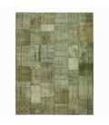 Vintage patchwork rug color natural (405x305cm)
