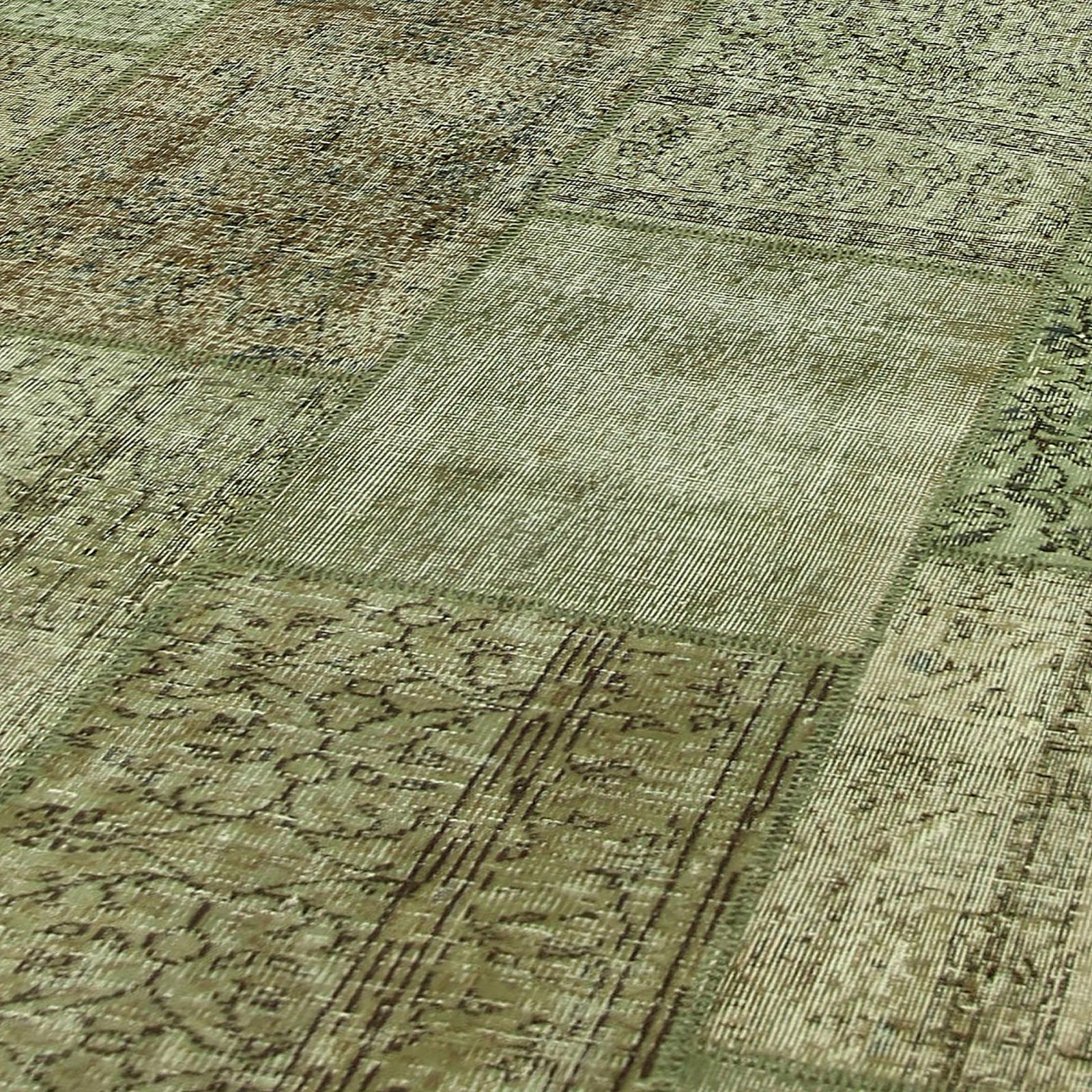 natural vintage patchwork flicken teppich 405x305cm. Black Bedroom Furniture Sets. Home Design Ideas