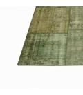 Vintage tapis de patchwork couleur natural (405x305cm)