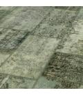 Vintage patchwork rug kleur grijs (405x305cm)